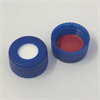 4st kvar! 9mm Cap, BLU, Sil. WH/PTFE red, 55°A, 1.0mm, (Y)/p100